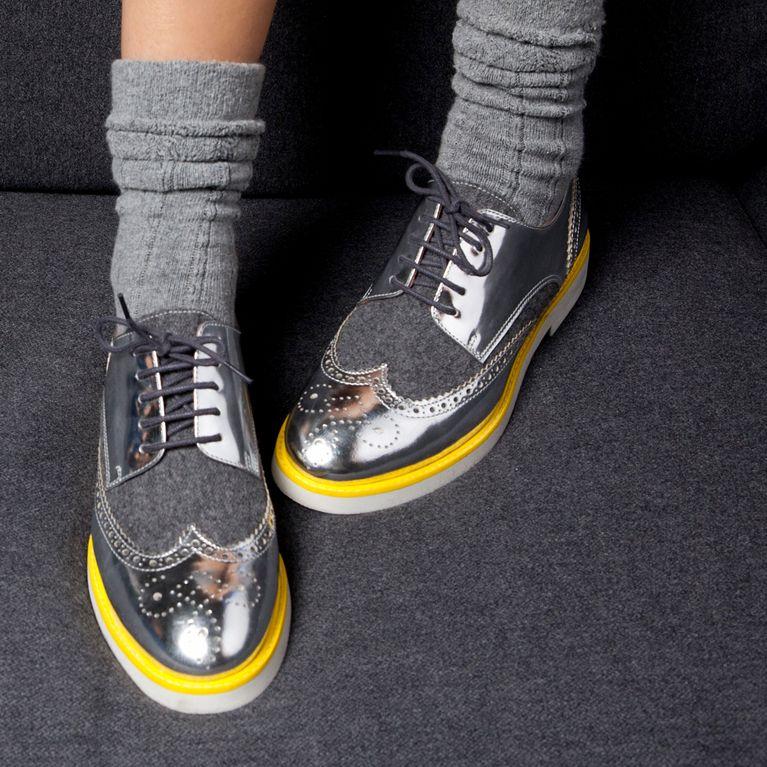 aa5a92c8baf4a2 Chaussures derbies femme : comment les porter ces chaussures plates