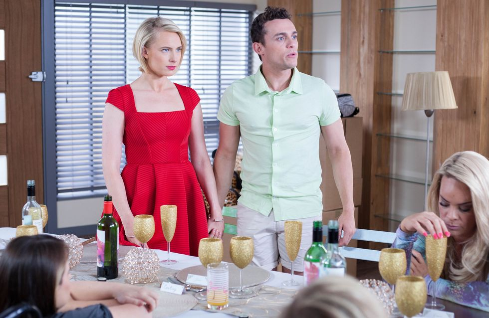 Hollyoaks 11/08 - Adam Is Angered When Scheming Darcy Proposes To Jesse
