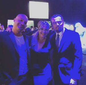 Billy Zane avec Kate Winslet et Leonardo DiCaprio