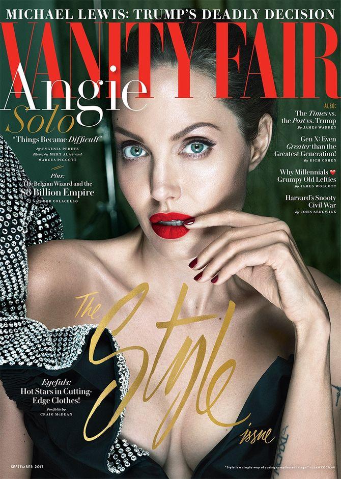 Angelina Jolie pour Vanity Fair