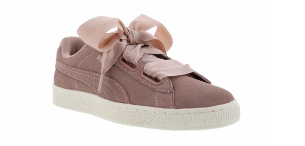 Puma Heart Velvet sur Foot Locker, 99,99 €