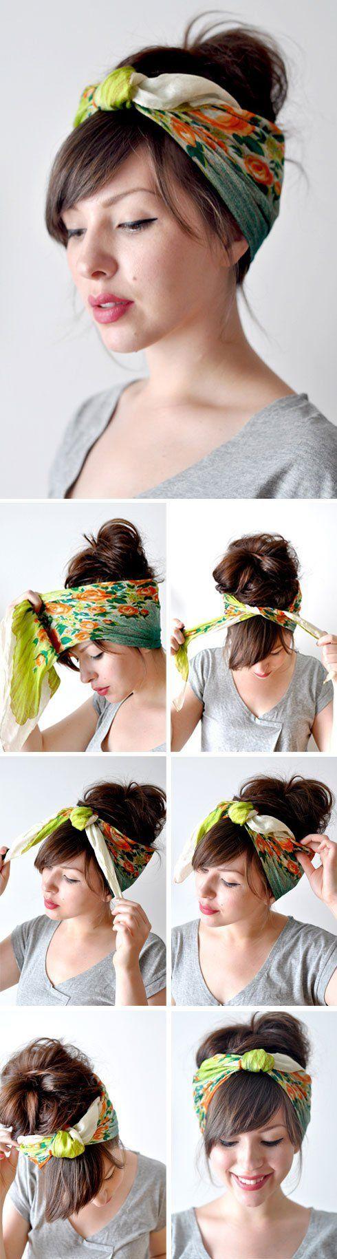 30 modi per indossare fasce e turbanti per l estate d0dafe64bb6f