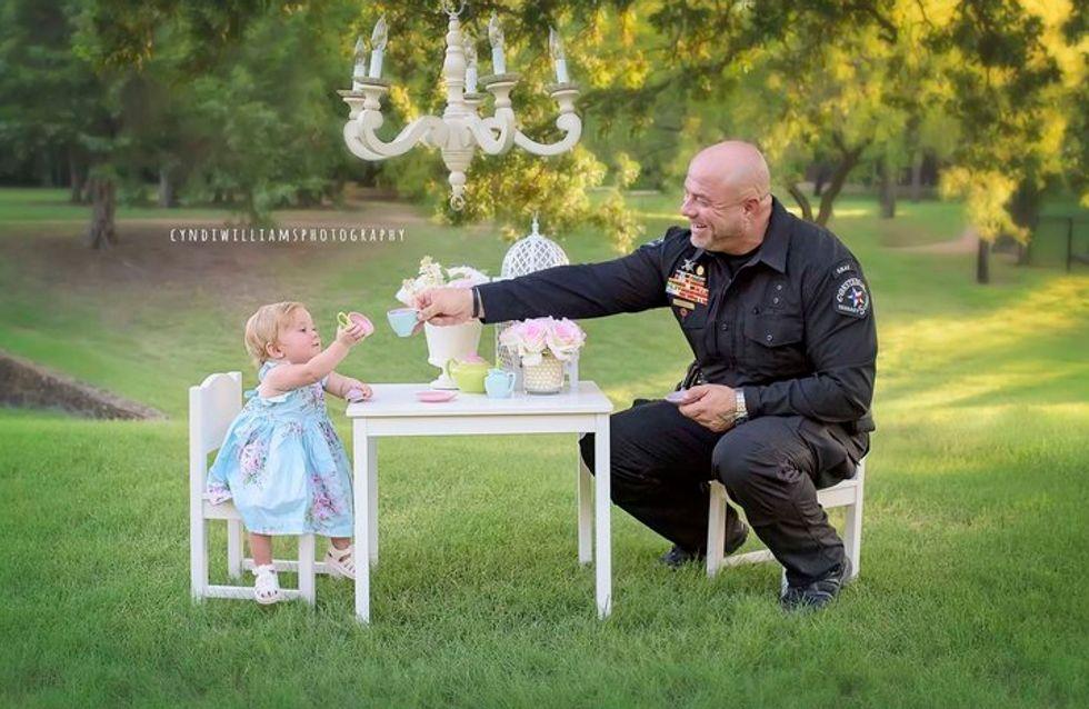1. Geburtstag mit Polizeieinsatz: Hinter diesem Foto steckt eine tolle Geschichte