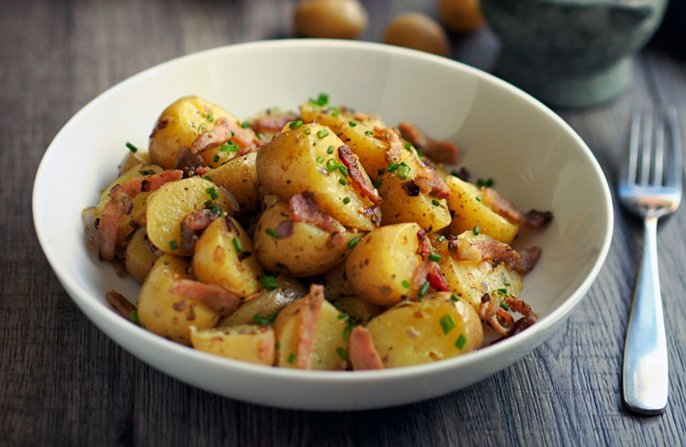 rezept kartoffelsalat ohne mayonnaise mit speck