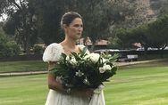 Bianca Balti si è sposata! E il suo abito è semplicemente meraviglioso!