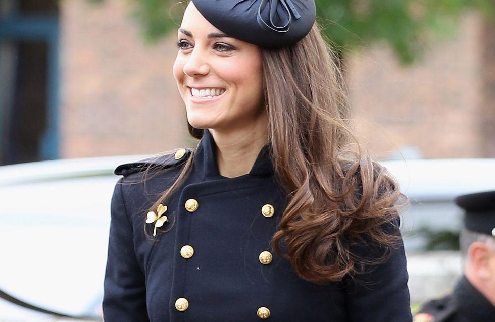 Le secret du brushing parfait de Kate Middleton se trouve... dans votre salle de bain !