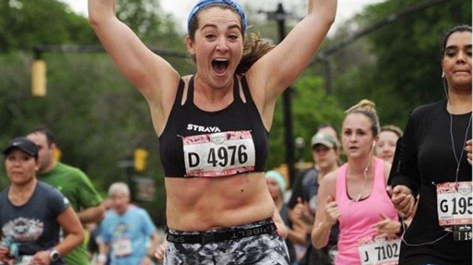 Zu fett um im Sport-BH zu laufen? DAS ist ihre schlagfertige Antwort!