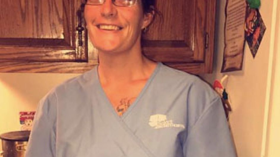 'Tattoos Don't Define The Person': Nurse's Son Says You Shouldn't Judge Her By Her Ink