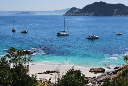 Playa de las Illas Cíes