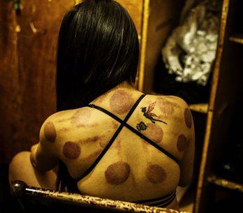 20 escalofriantes imágenes de un club nocturno en China