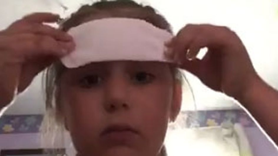 This Girl Didn't Know What A Sanitary Pad Was But Used It In Her Makeup Tutorial Anyway