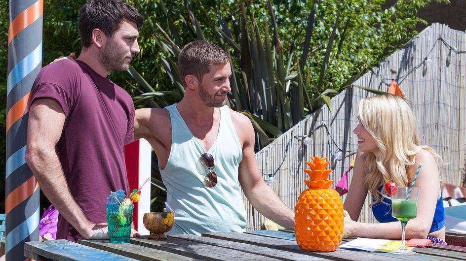 Hollyoaks 17/08 - Brody And Damon Take A Shine To Cleo
