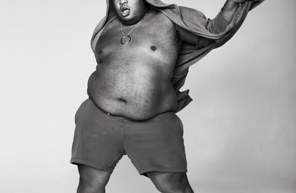 Dexter Mayfield, le mannequin qui veut mettre en lumière les modèles plus size masculins (Photos)