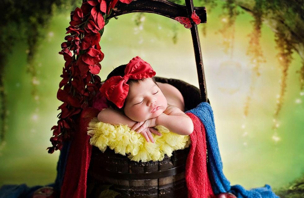 Questa fotografa trasforma le neonate in principesse Disney ed il risultato è dolcissimo!