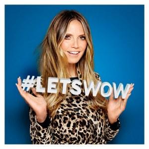 Die Heidi Klum Kollektion läuft unter dem Motto #LETSWOW