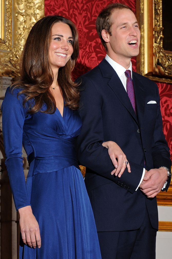 Les fiançailles de Kate et William en 2010