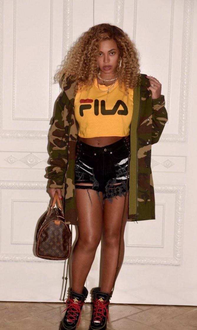 Beyoncé en pleine forme