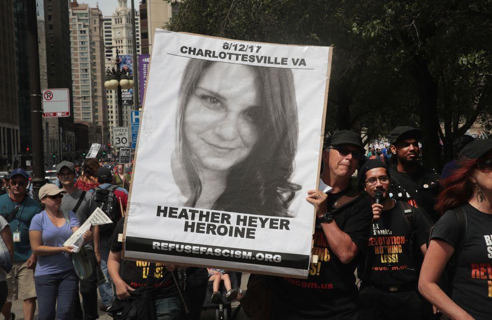 Heather Heyer tuée alors qu'elle manifestait contre la haine à Charlottesville