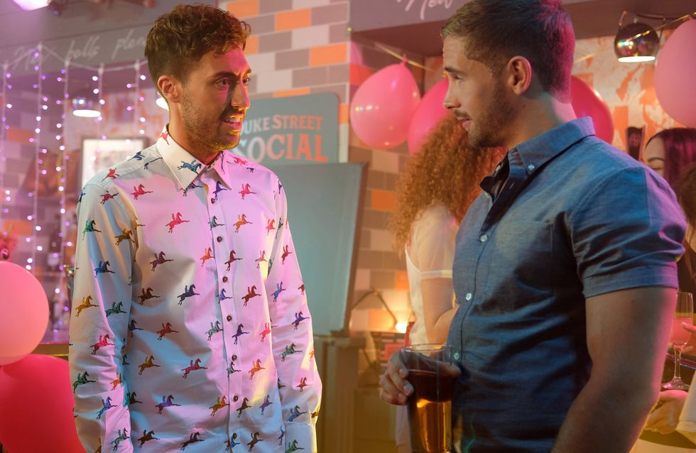 Hollyoaks 21/08 - Brody Sabotages Scott's Event