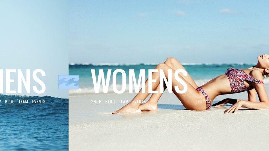 Sexistische Werbung? 'Billabong' sorgt im Netz für Diskussion