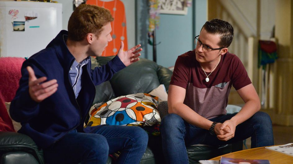 Eastenders 24/08 - Jay Tells Ben They're No Longer Brothers