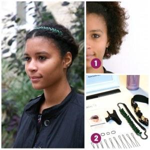 Comment porter un headband sur des cheveux courts ?