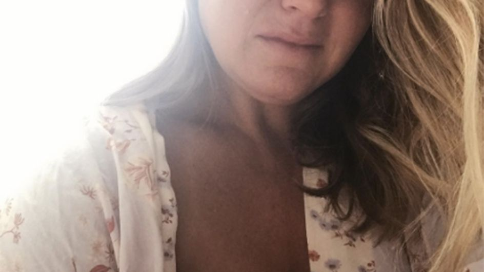 Mum Shows The Not-So-Blissful Reality Of Breastfeeding