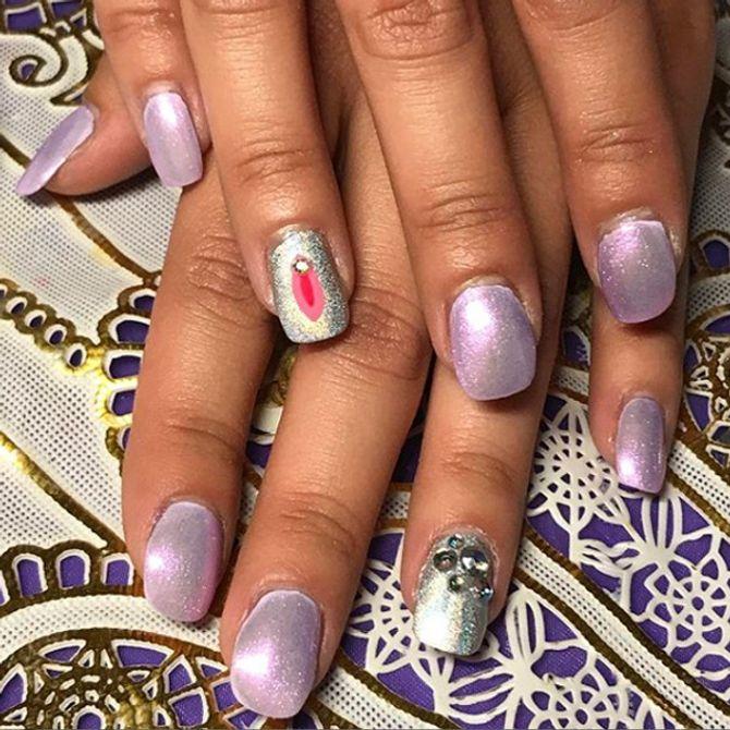 Vagina nail art