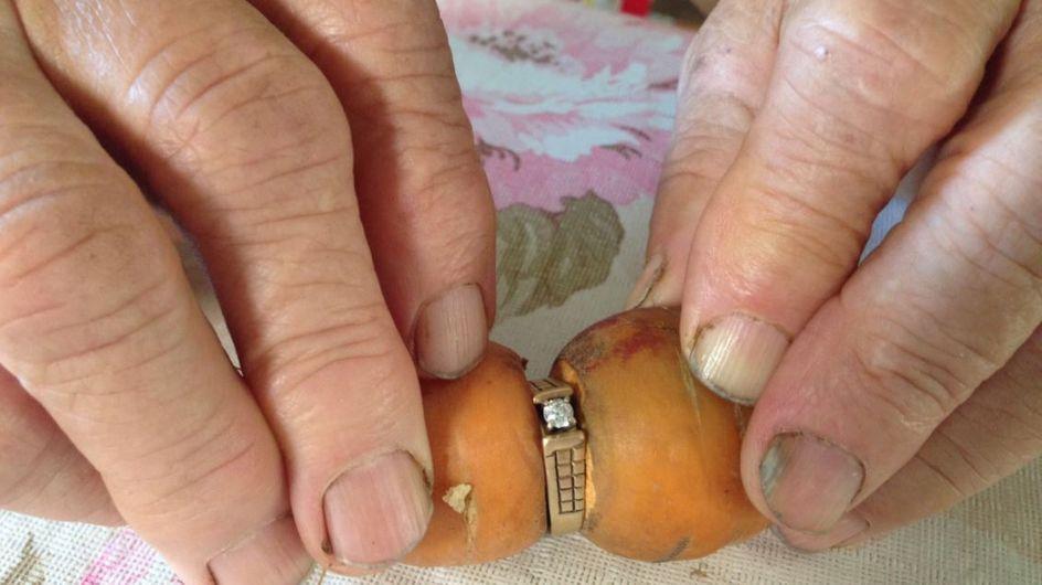 Nach 13 Jahren findet sie ihren Ring wieder - und kann es nicht fassen!