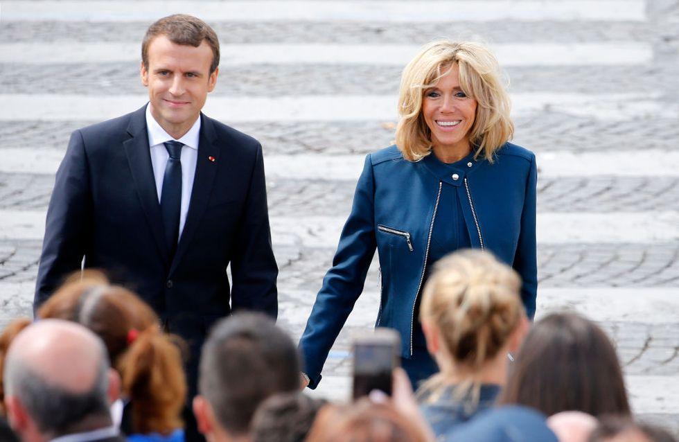 Moi avec mes rides, lui avec sa fraîcheur Brigitte Macron se confie sur son couple