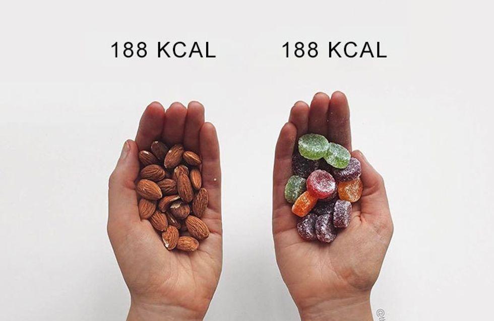Gesund vs. ungesund: So verkehrt nehmen wir Kalorien wahr