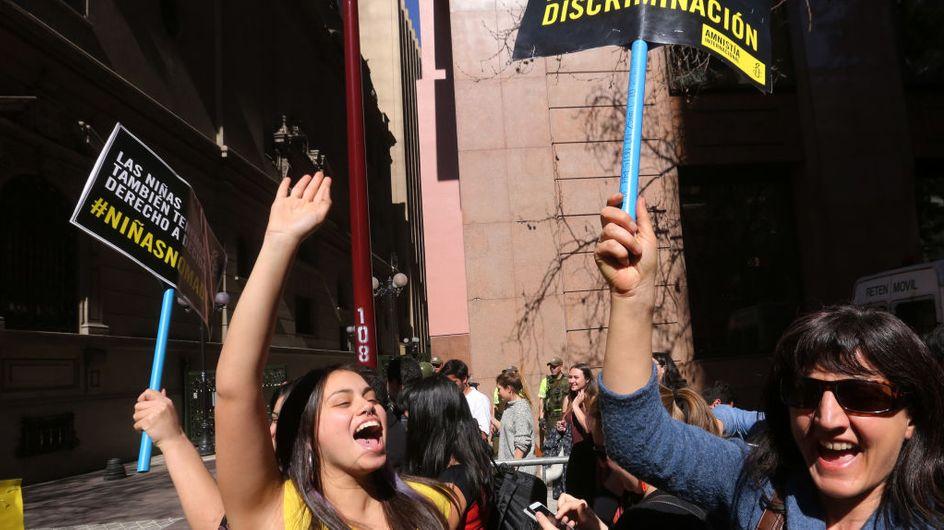Le Chili dépénalise l'avortement, mais seulement dans des cas très spécifiques