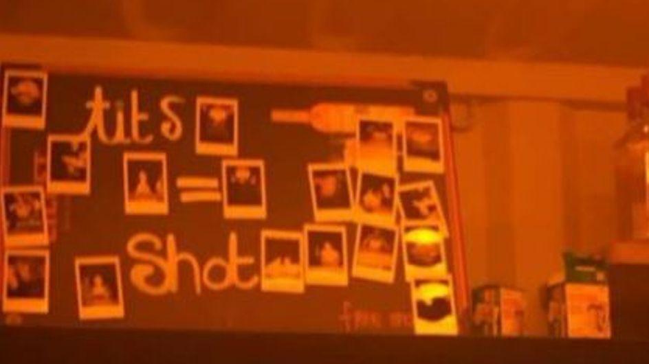 Un célèbre bar parisien proposait aux femmes de montrer leurs seins contre des shots gratuits