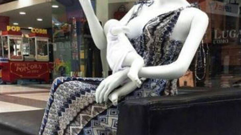 Colombie : des mannequins qui allaitent installés dans les centres commerciaux (photos)