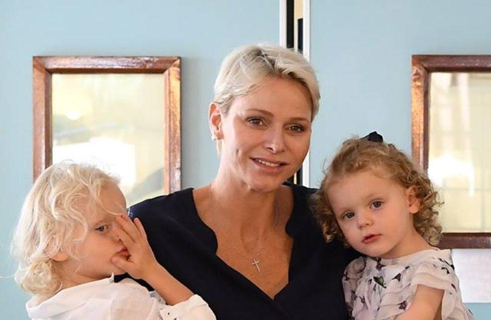 Charlène de Monaco, resplendissante avec ses jumeaux Jacques et Gabriella (Photos)