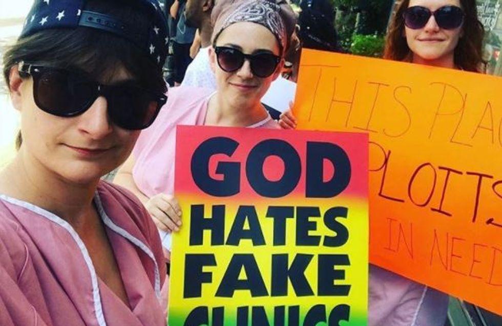 Aux Etats-Unis de fausses cliniques pro-life mentent aux femmes enceintes