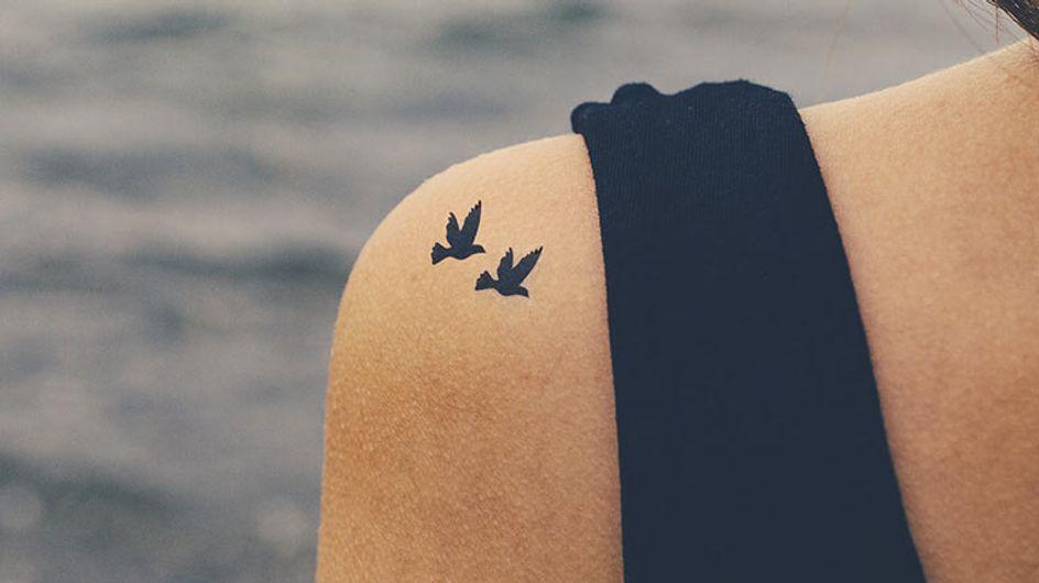 Panthère, oiseau, coeurs
