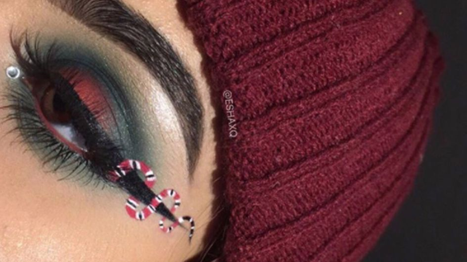 A Beauty Blogger Has Created Snake Eyeliner Just As Taylor Swift Drops New Music