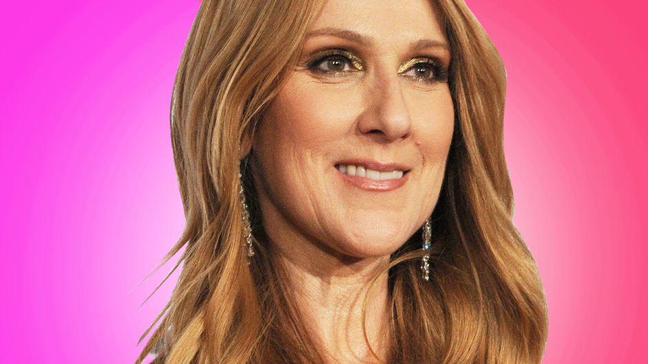 Céline Dion, en total look rose pour présenter sa collection de sacs (Photos)