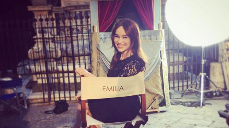 Un huracán llamado Emilia Clarke que conoció la fama gracias a 'Juego de tronos'