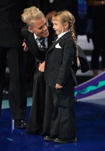 Pink e la figlia ai VMAS