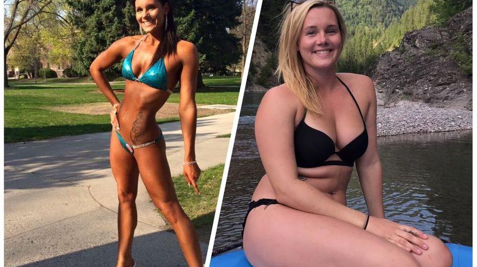 Dünn vs. glücklich: Bodybuilderin zeigt uns, was im Leben WIRKLICH zählt