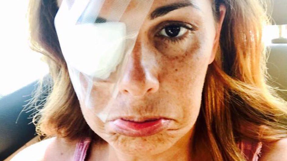 Vanessa Incontrada non perde la sua ironia nemmeno dopo un incidente