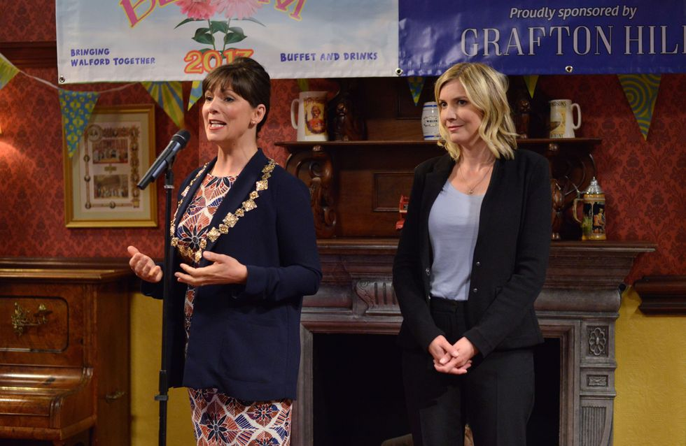 Eastenders 15/09 - There's A Backlash When The Mayor Arrives To Give A Speech