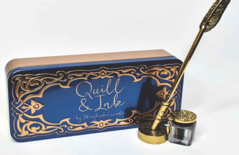 Harry Potter Quill And Ink Liquid Eyeliner Now Exists And It's Magical AF