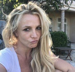 Britney Spears, sans maquillage