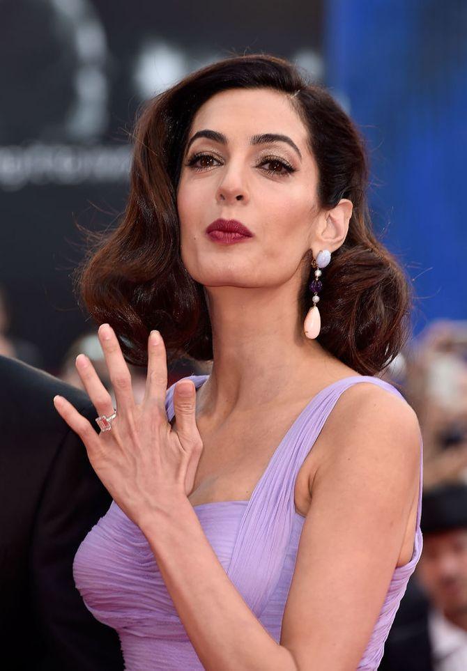 Amal Clooney au comble du glamour au Festival du film de Venise