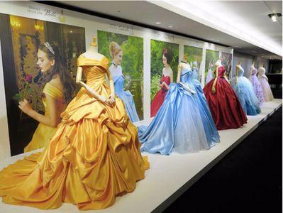 Les robes de la créatrice japonaise, inspirées des grands classiques Disney.