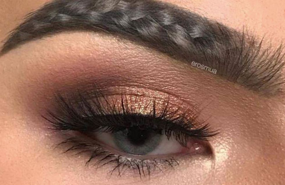 Braided Eyebrows Are Here Because 2017 Is Officially The Year Of The Barmy Brow