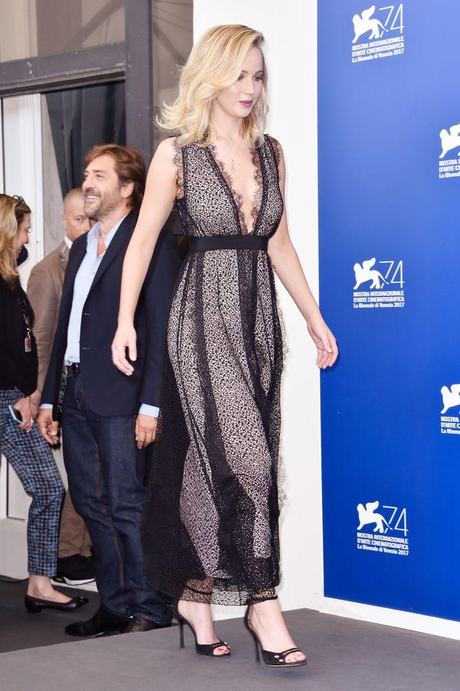 Jennifer Lawrence à Venise